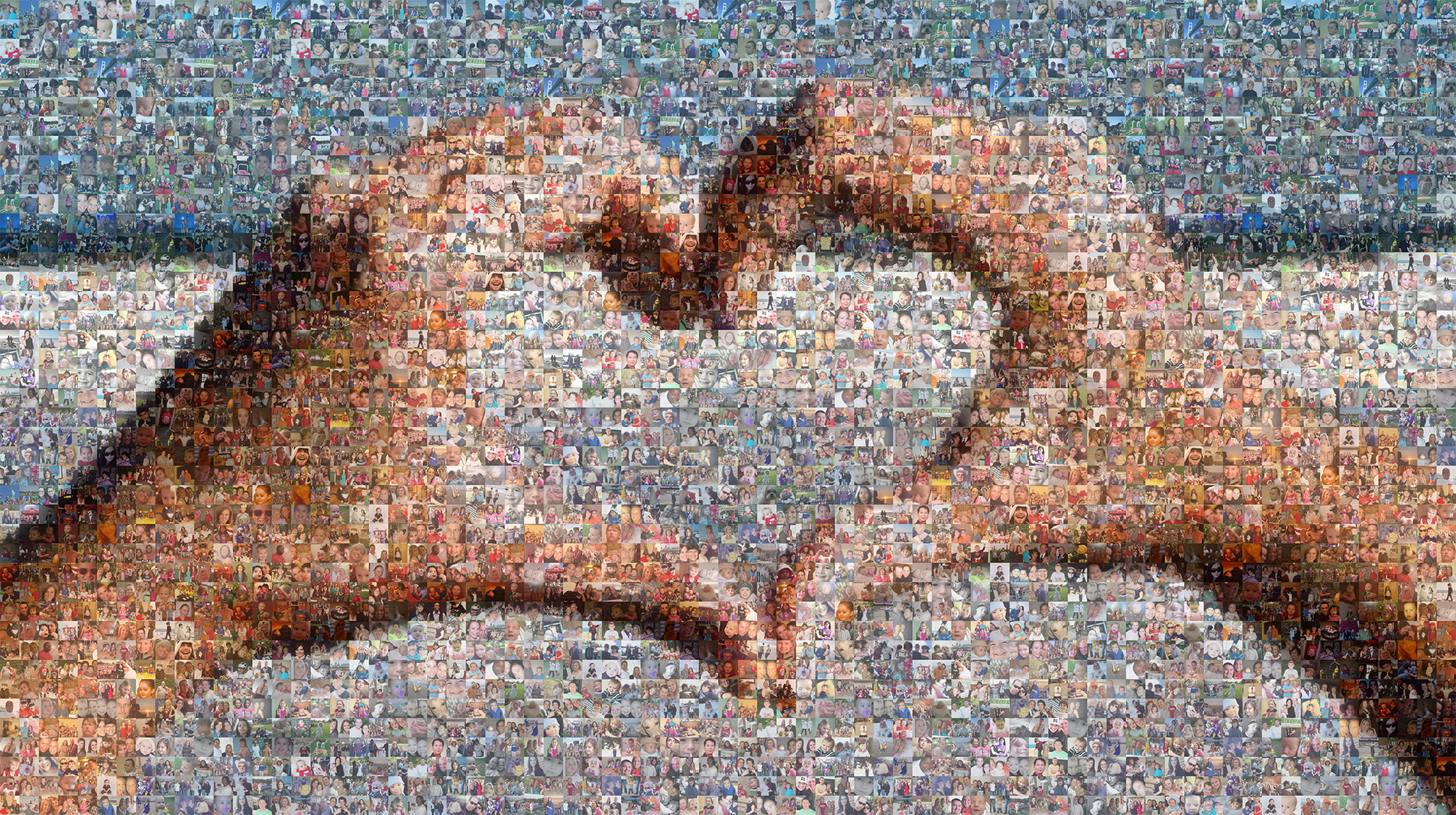 Picture Mosaics - True Photo Mosaic Design