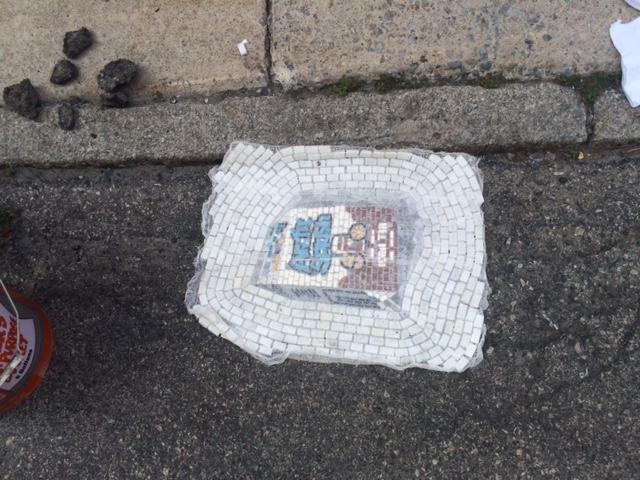 Jim Bachor Pothole Mosaics