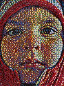 thumbtack mosaics