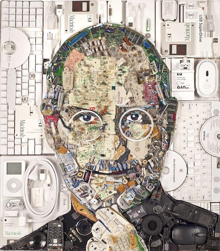 Jason Mecier Junk Mosaics