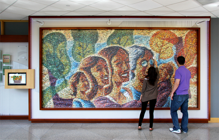 The Magee Womens Hospital 100th Anniversary Mosaic