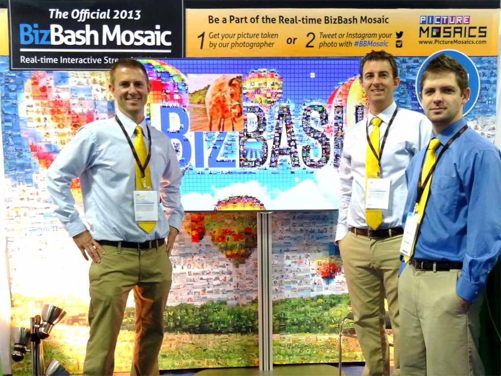 BizBash IdeaFest 2013 - Real-time Interactive Photo Mosaic