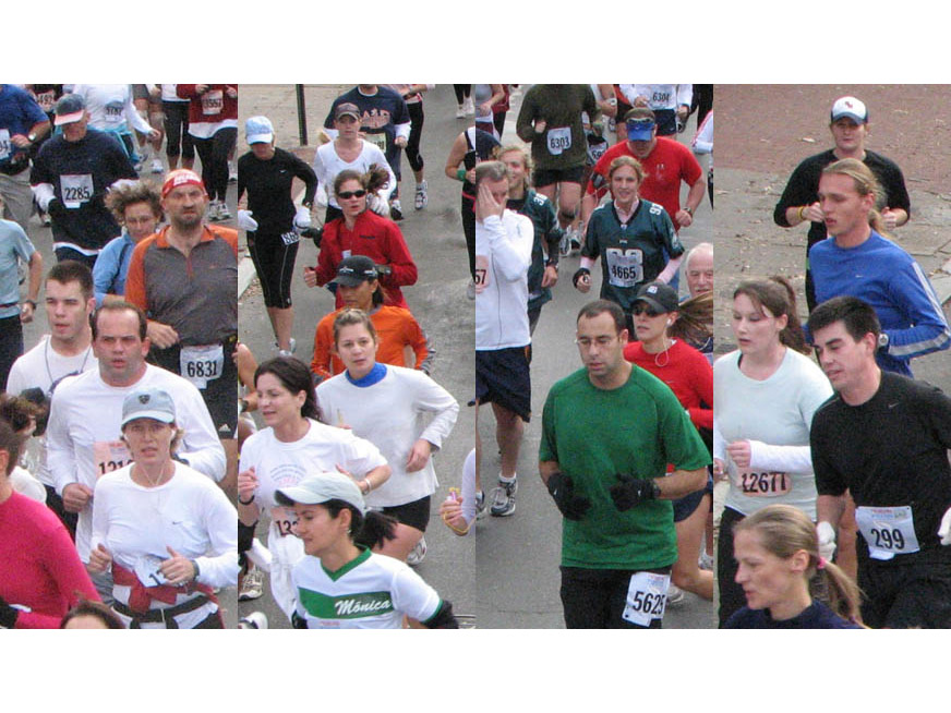 Philadelphia Marathon - Interactive Event Photo Mosaic