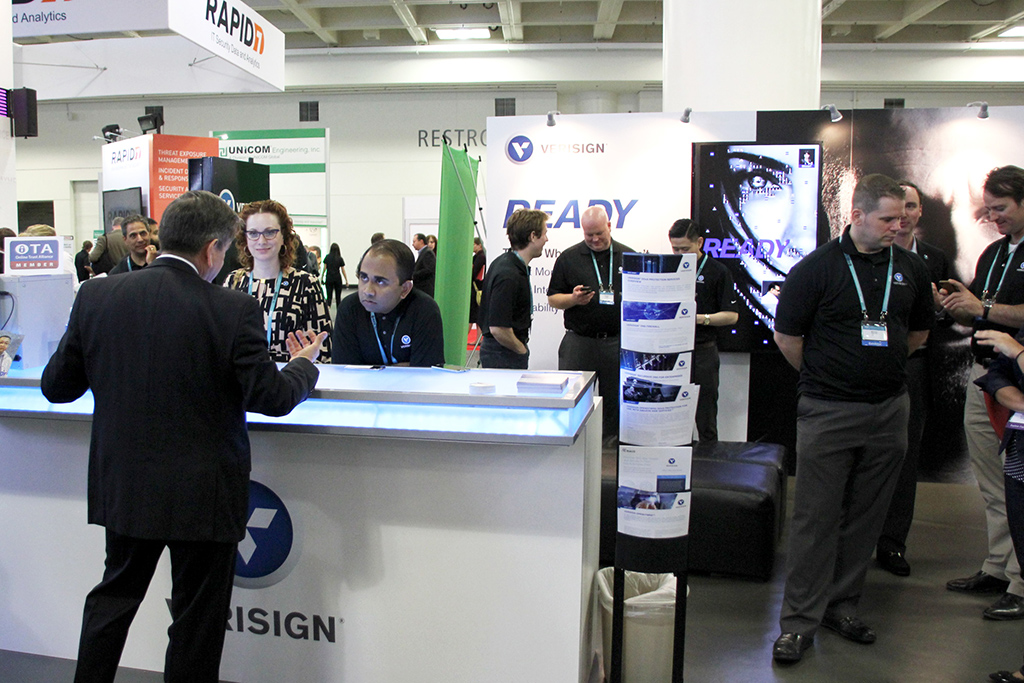 Verisign at RSA Conference 2015 - Real-time Interactive Photo Mosaic
