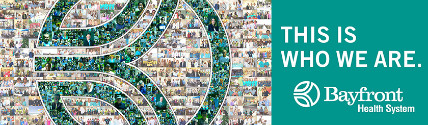 Bayfront Health System 2011 Photo Mosaic Billboard Ad Campaign