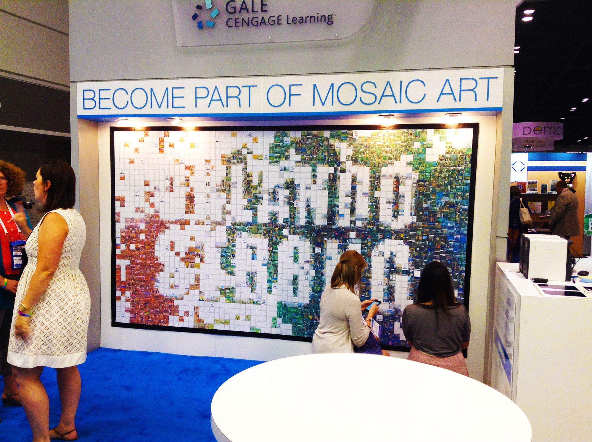 Real-time Photo-by-Photo Mosaic Event: ALA Annual Conference