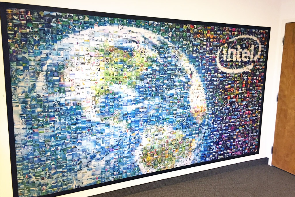 Intel Employee Engagement: Photo-by-Photo Mosaic