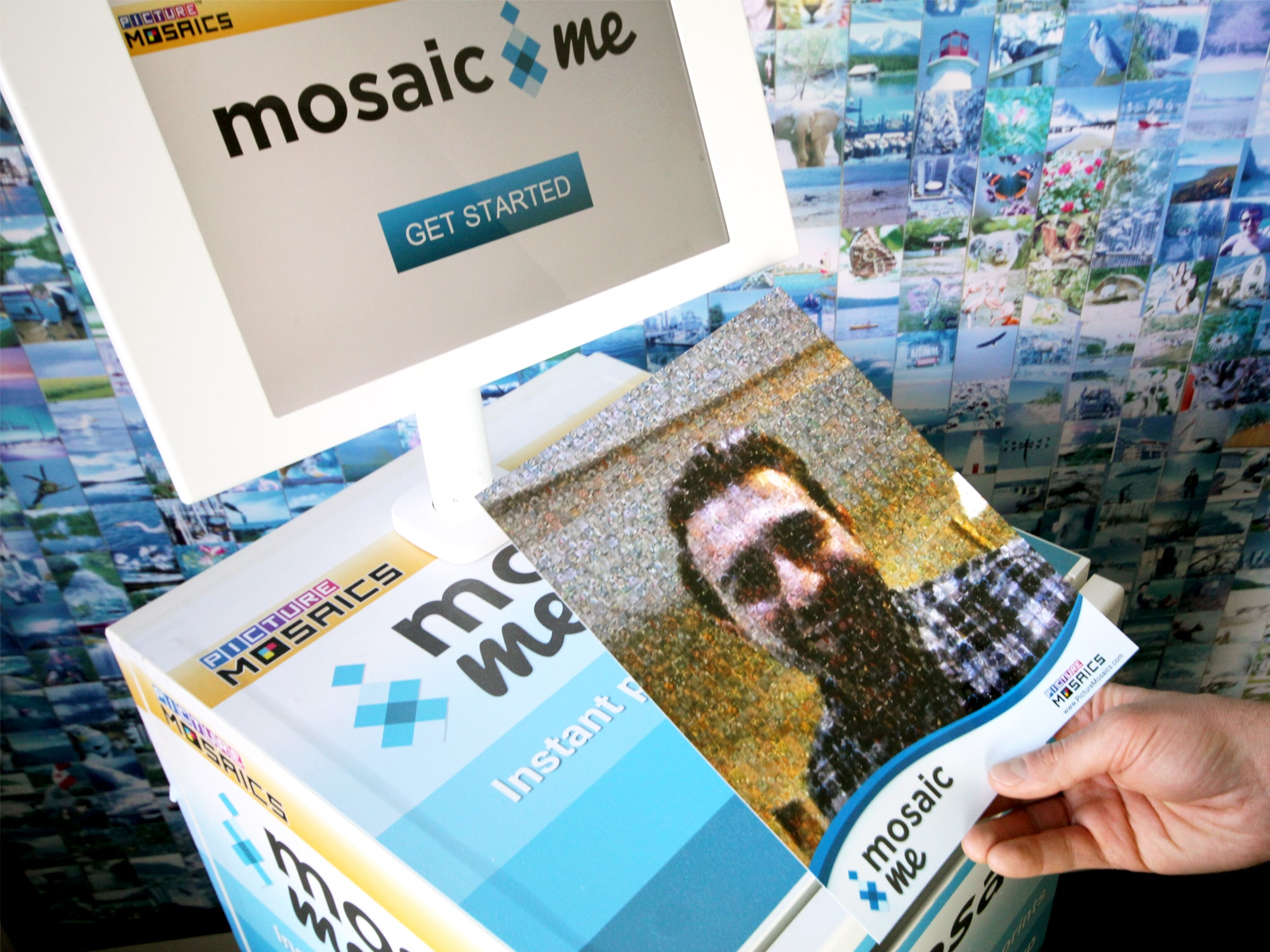 BizBash Live Print Mosaic Event