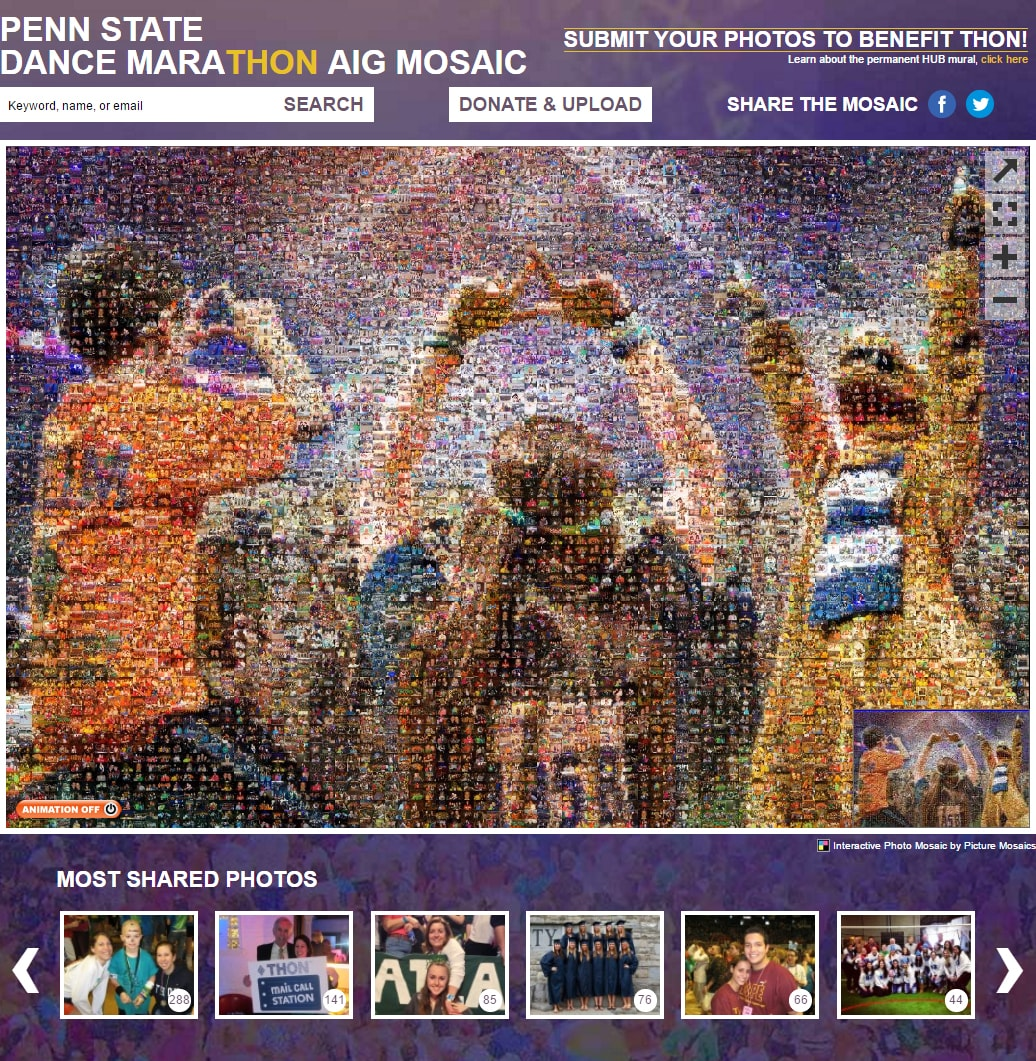 DMAIG Photo Mosaic Mural