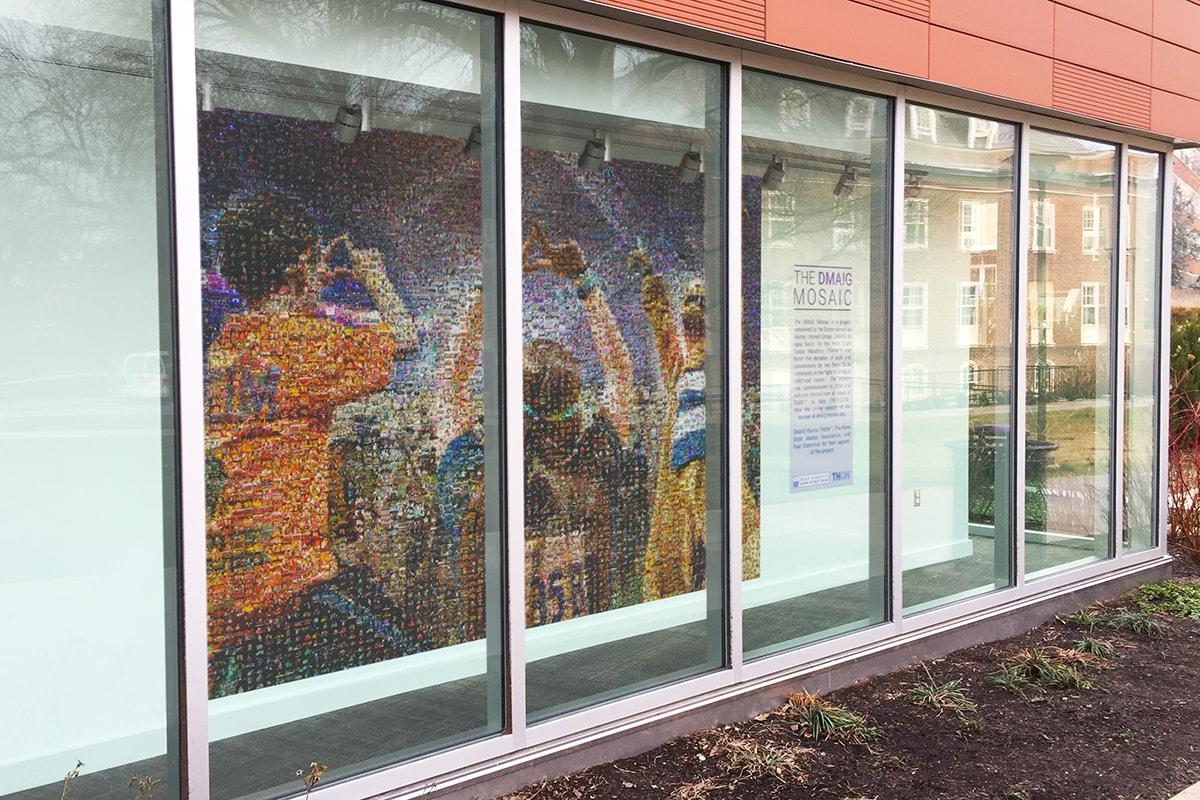 DMAIG Photo Mosaic Mural