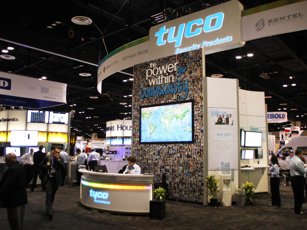 Real-time Interactive Photo Mosaic Event Tyco ASIS 2011