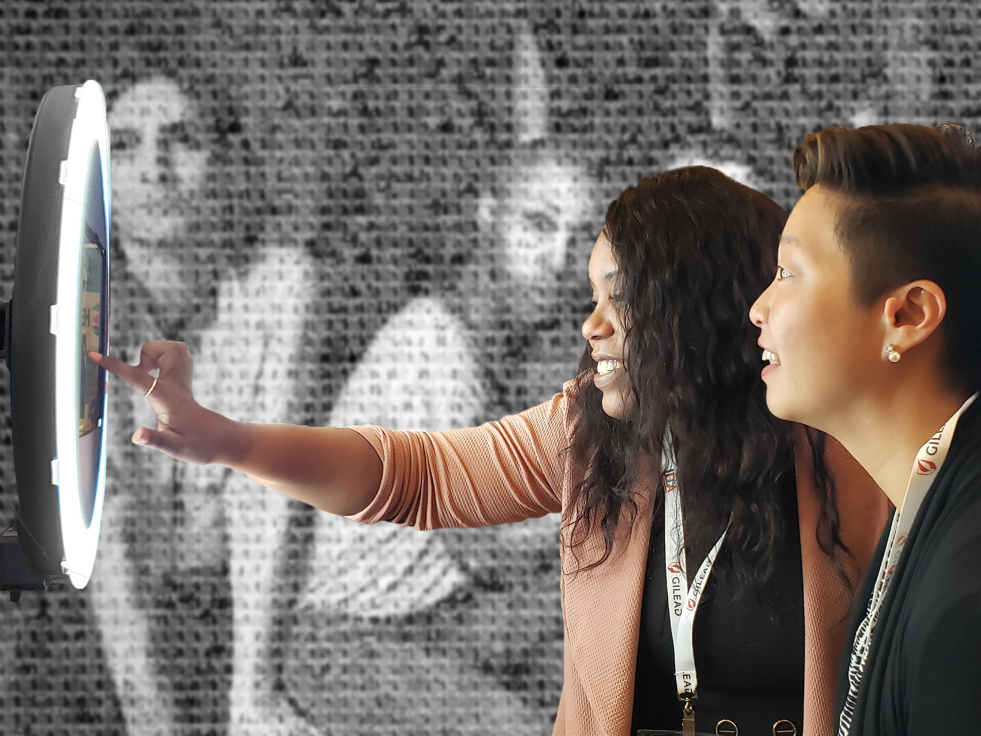 Live Digital Mosaic Event Gilead