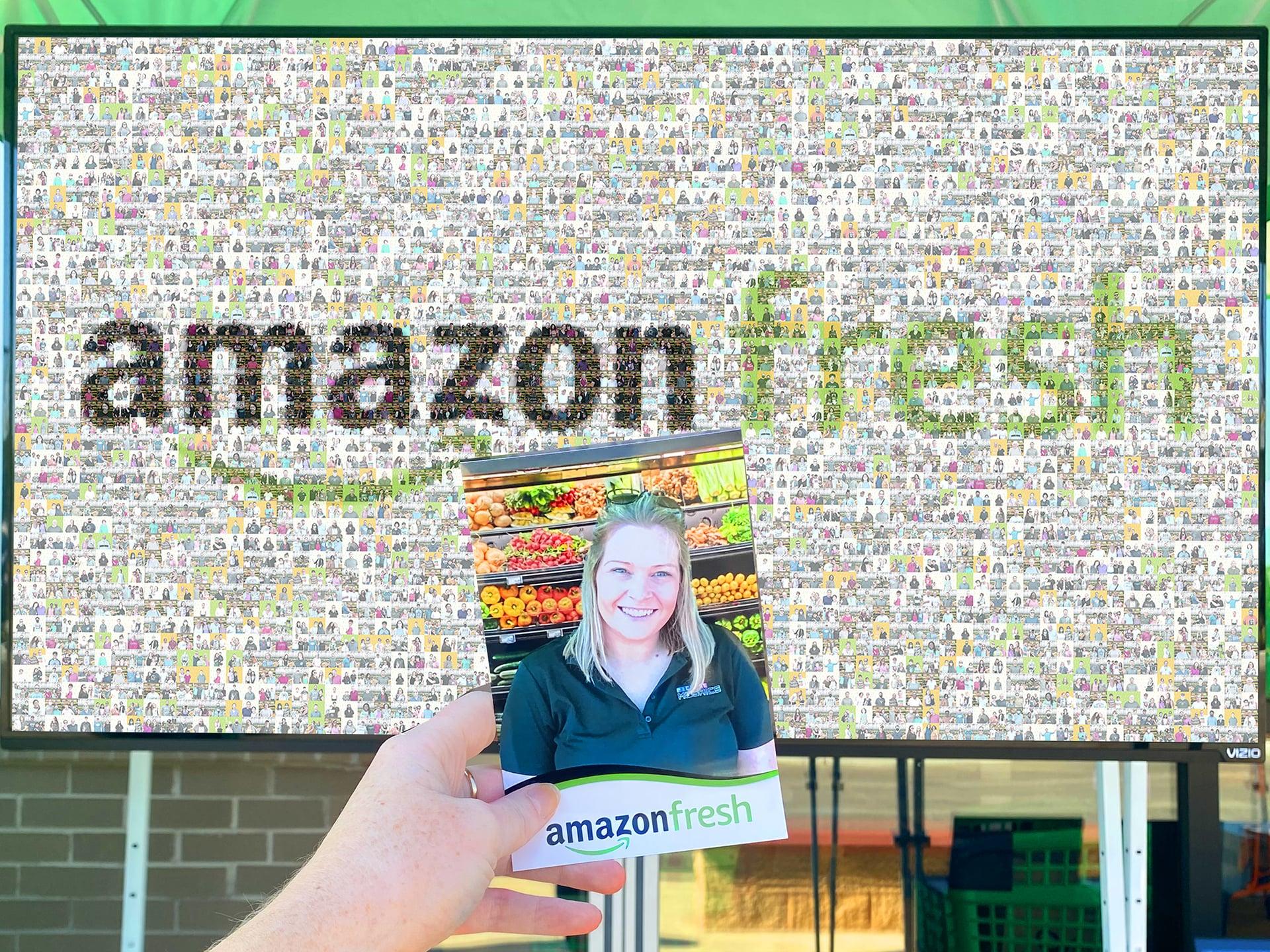 Live Digital Mosaic: Amazon Fresh