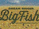 big fish broadway musical poster text letters words