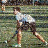sports field hockey people athletes athletics faces distant