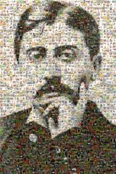 marcel proust writers authors people faces portraits man black and white chickens literature french novelist critics