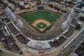 baseball field sports stadium chicago cubs pride athletic aerial