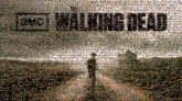 walking dead amc text words letters shows entertainment drama logos graphics tv