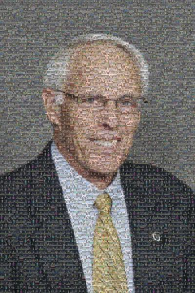 Professional Portrait photo mosaic