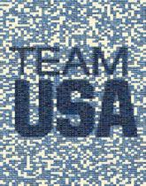 usa words text letters national pride teams unity duplicates white borders