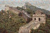 great walls landmarks china chinese nature skylines