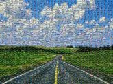roads landscapes travel vacations destinations adventure lines perspective clouds