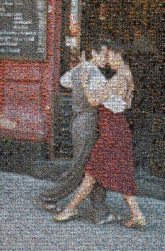 tango dancing couples people faces dancers love portraits distance distant full body