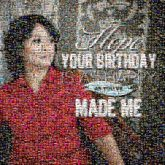 birthdays celebrations portraits people faces woman text letters words graphics quotes