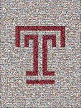 temple university college education school letters fonts symbols graphics logos icons owls