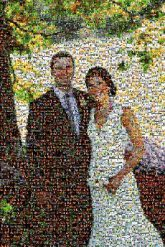 wedding couple married marriage love people faces full body distance distant portrait