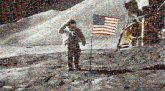 space adventure astronaut armstrong moonwalk exploration travel