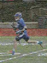 lacrosse sports athletes people person man athletic action faces distant distance