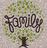 family trees shapes script text words letters love graphics symbols