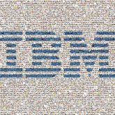 ibm lines shapes symbols icons logos letters words text technology company corporate