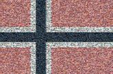 Norway Norwegian Scandinavian Norse flags country nations patriotic symbolic