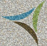 Valet, Waste, logo, company, business, advertisement, trash, recycle, mosaic, photos, pictures