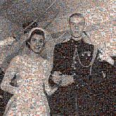 wedding vintage grandparents black and white portraits brides grooms marriage love couple together family