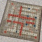 anniversary scrabble games boards letters words text celebration celebrate 50 years organizations community