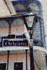 new orleans Louisiana nola city buildings signs letters text words travel