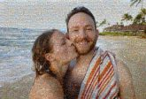 couples people faces portraits man woman kiss beaches travel vacations love
