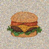 cheeseburgers fast foods restaurants eating logos graphics drawings illustrations