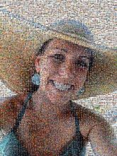 sunhat beach vacation summer spring smile faces people selfie closeup portraits woman