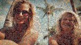friends people faces portraits selfies summer vacation beaches sunglasses