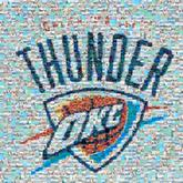 thunder logos sports text okc