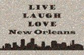 sayings quotes text words letters black and white cities city graphics new orleans unity pride