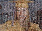 graduate graduation cap school education selfies portraits girl faces