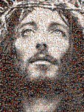 jesus religions religious figures faces black and white portraits church