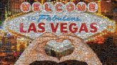 Welcome to Fabulous Las Vegas Sign McCarran International Airport Vector graphics Logo Illustration Image Stock illustration