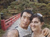 couples people faces portraits travel vacation landscapes bridges hiking man woman husband wife love selfies