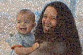 mom mother son children kids infants people faces family love smiling portraits